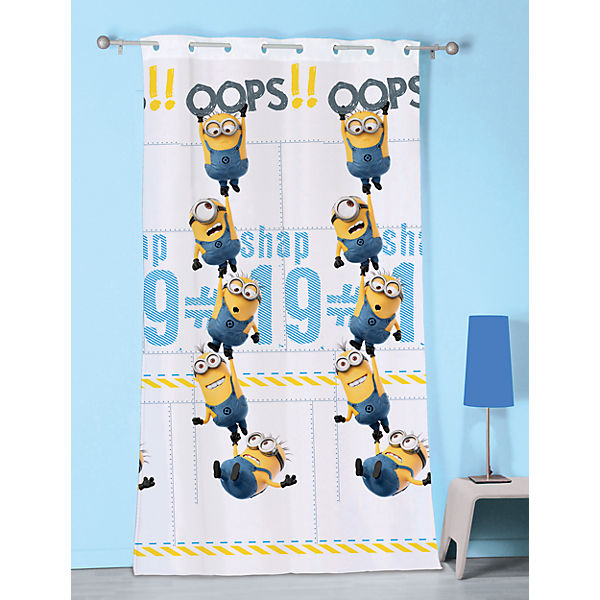 Vorhang Minions Oops, 140 x 240 cm