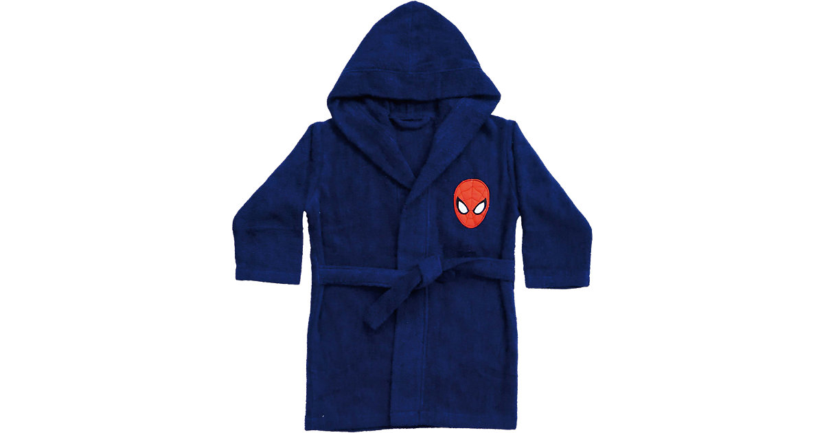CTI · Kinder- Bademantel Spiderman Gr. 116/128 Jungen Kinder