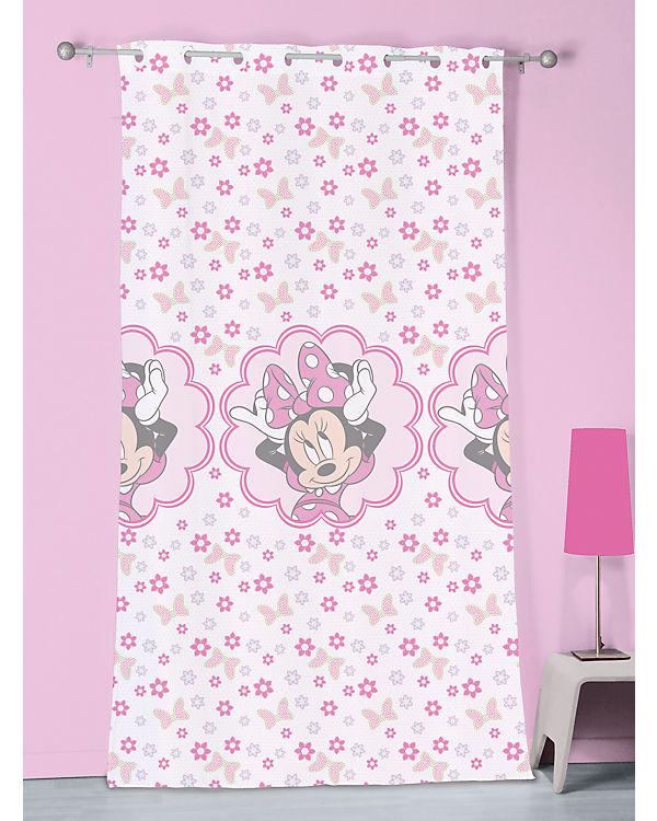 Vorhang Minnie Mouse Stylish Pink, 140 x 240 cm, Disney Minnie Mouse ...
