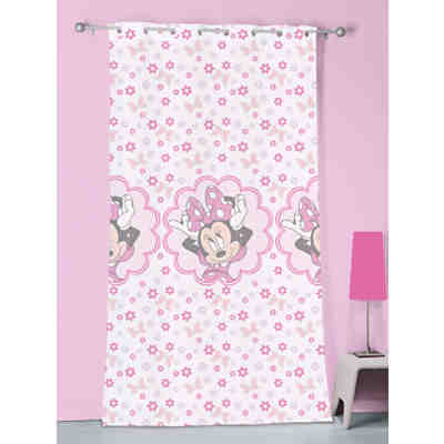 Vorhang Minnie Mouse Stylish Pink, 140 x 240 cm, Disney Minnie Mouse