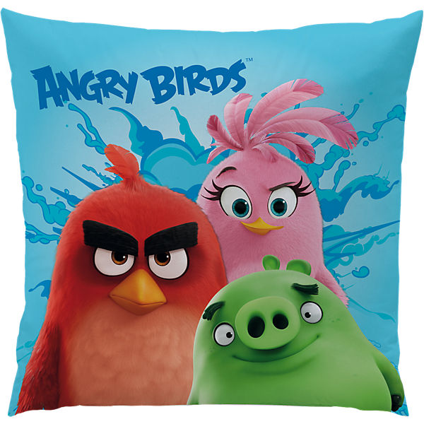 kuschelkissen angry birds explosion 40 x 40 cm angry birds mytoys. Black Bedroom Furniture Sets. Home Design Ideas