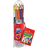 Карандаши цветные Faber-Castell Grip, 12 цветов