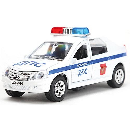 Инерционная машина Технопарк Renault Logan ДПС от ТЕХНОПАРК