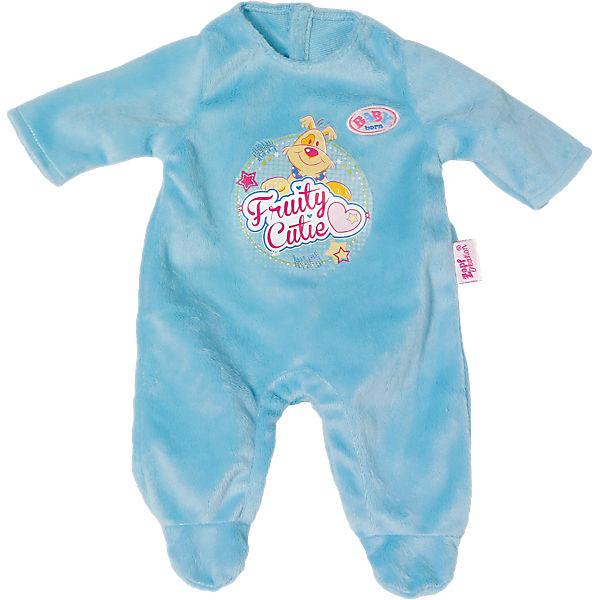 baby born puppenkleidung strampler blau 43 cm baby born. Black Bedroom Furniture Sets. Home Design Ideas