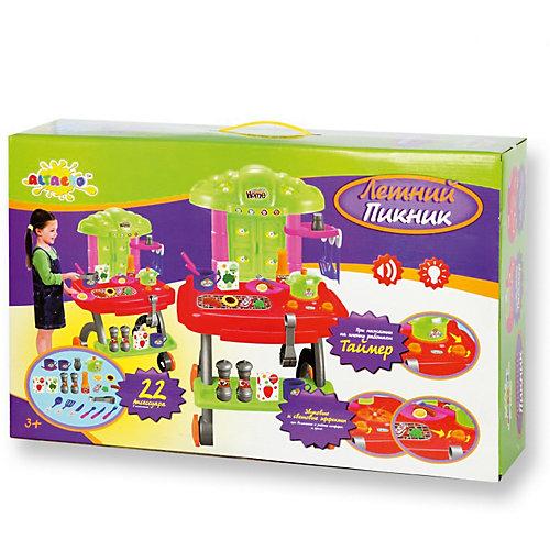 """Игровой набор для барбекю """"Летний пикник"""", сборный, со звуком и светом, ALTACTO от ALTACTO"""