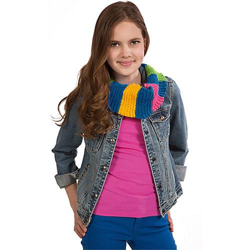 """Набор для вязания спицами """"Круговой шарф"""" от ALEX"""