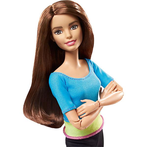 """Кукла Barbie """"Безграничные движения""""шатенка в голубом"""