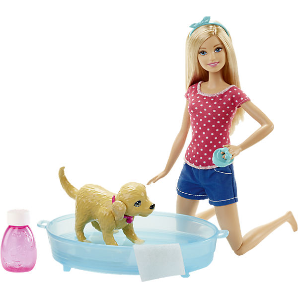 Barbie Hundebad, Barbie | myToys