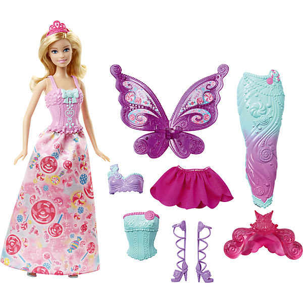 3-in-1 Fantasie Barbie