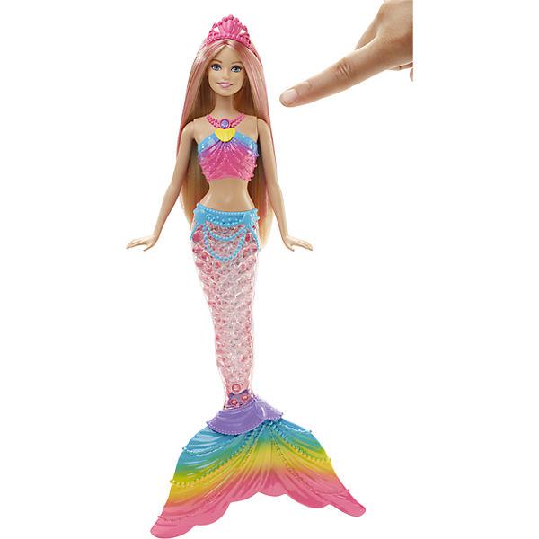barbie regenbogenlicht meerjungfrau barbie mytoys