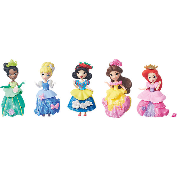 Disney Prinzessin Little Kingdom Glitzer-Prinzessinnen