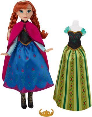 Die Eiskönigin Anna mit festlichem Wechsel-Outfit