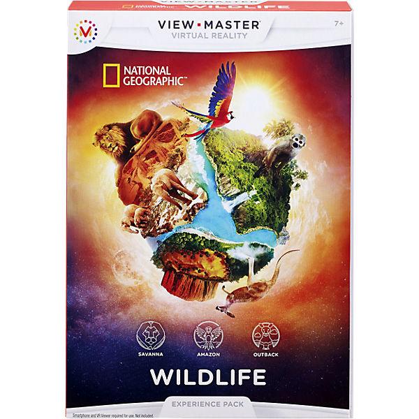 View-Master Erweiterung Themenwelt Wildtiere, Mattel Games