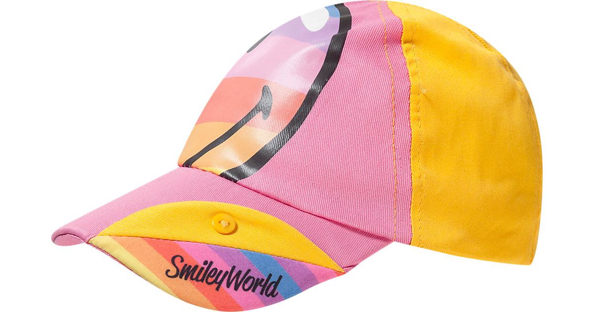 SMILEY WORLD Cap  rosa/gelb Gr. 52 Mädchen Kinder