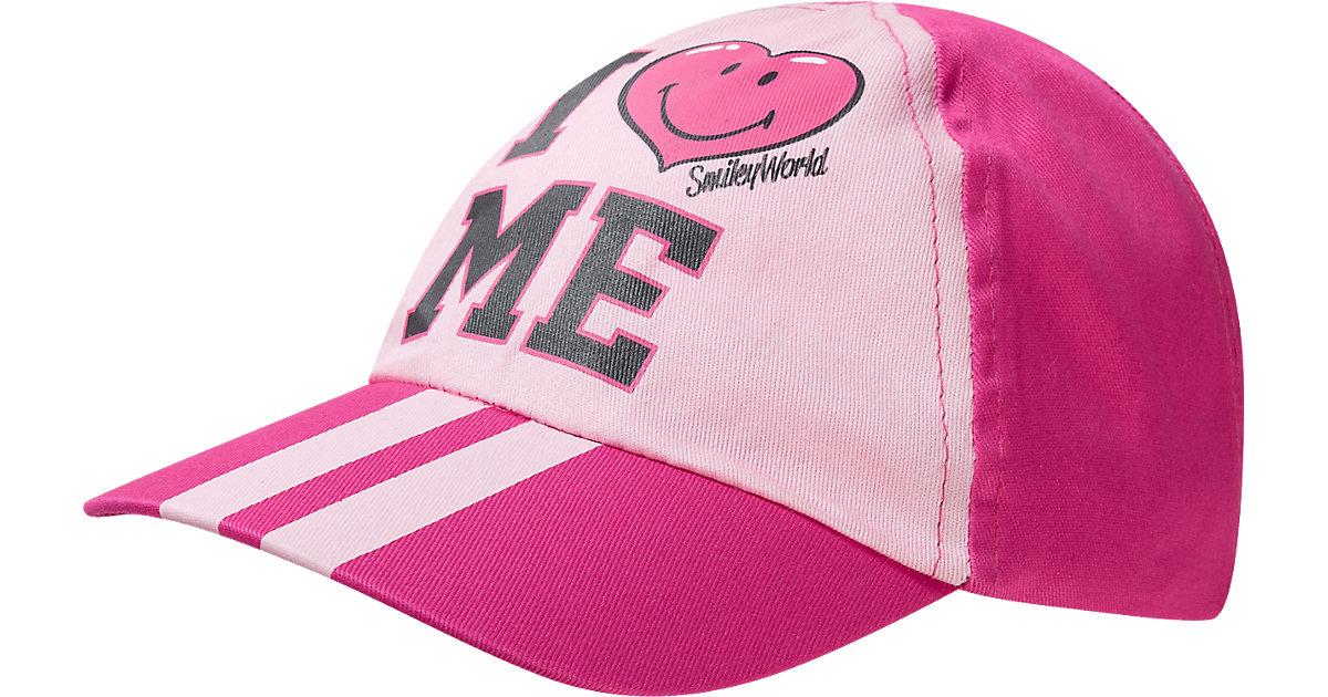 SMILEY WORLD Cap  pink Gr. 52 Mädchen Kinder