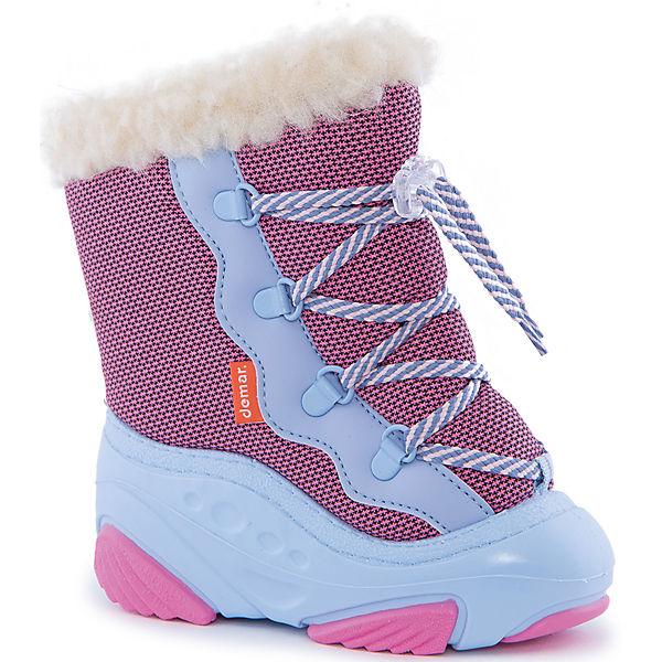 Сноубутсы Snow Mar для девочки Demar