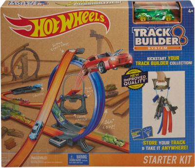Hot Wheels Track Builder Starter Set