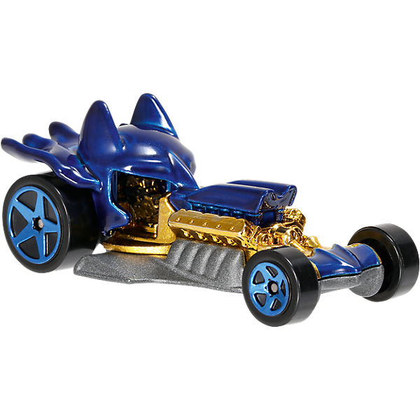 Hot Wheels DC Comics  1:64 Character Car Sortiment (rollierend) - 1 Fahrzeug, Hot Wheels