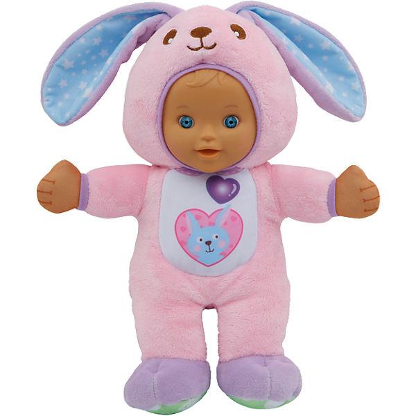 Babypuppe Little Love - Hannah im Hasenstrampler, 30 cm, Vtech