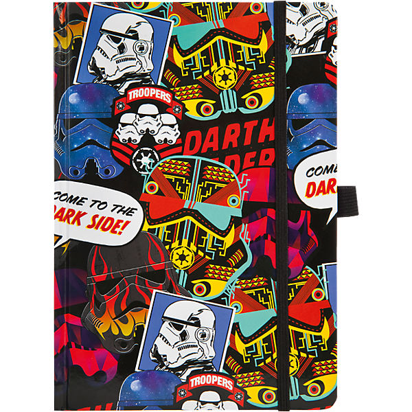 Notizbuch A5 Star Wars Patch, blanko