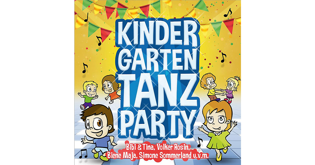 CD Kindergarten Tanzparty