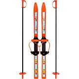 """Лыжи детские """"Вираж-спорт"""" с палками, Цикл"""