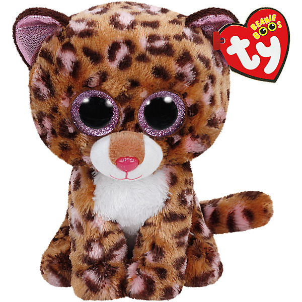 Beanie Boo 15 cm Leopard Patches