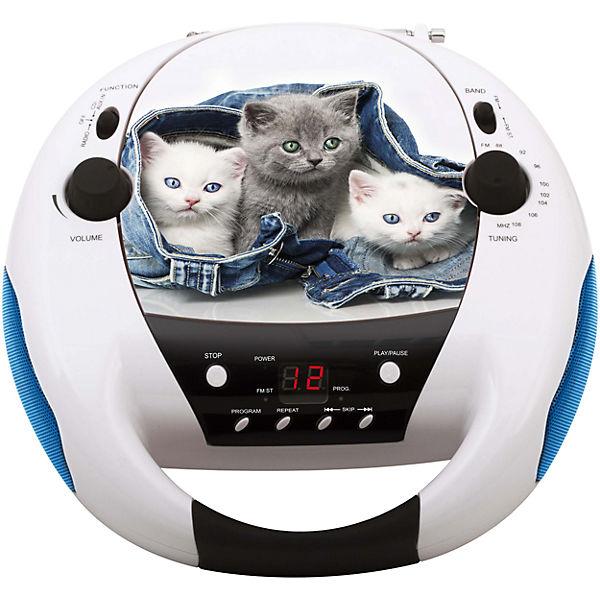 CD Player mit Radio CD52 Cats 2 bigben