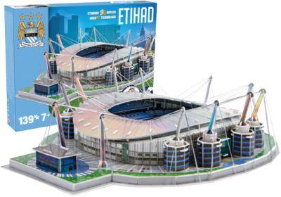 3D Stadion-Puzzle Etihad Stadium Manchester City 139 Teile