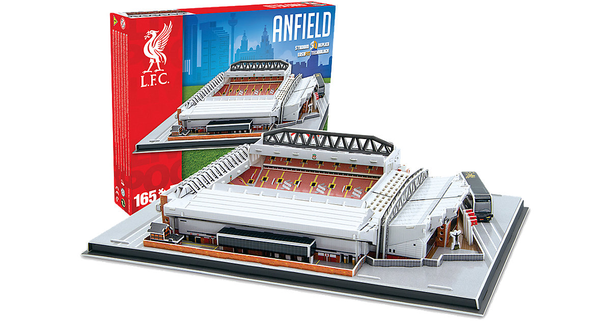 3D Stadion-Puzzle Anfield Road Liverpool 165 Teile