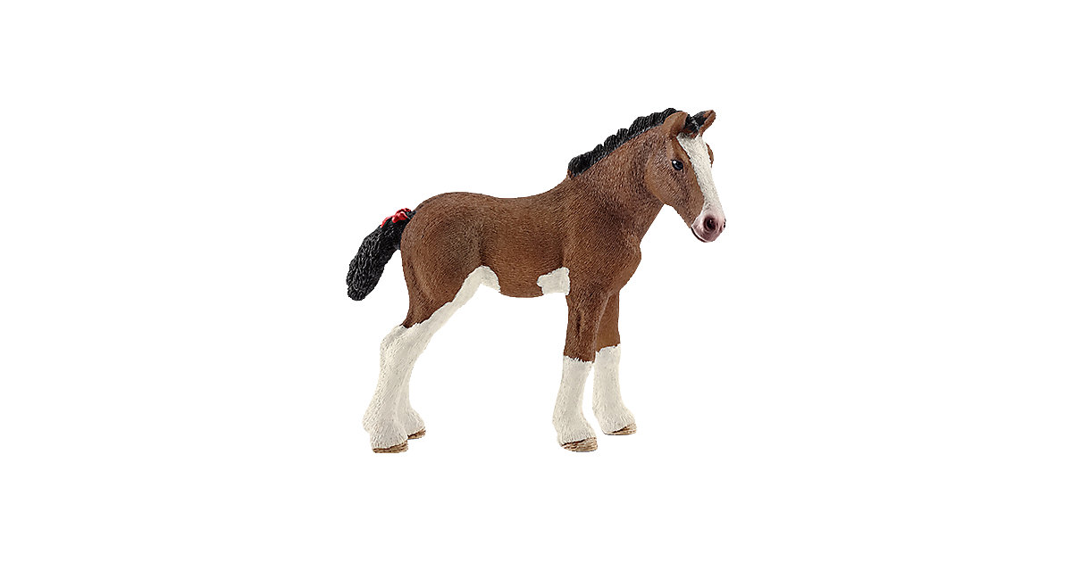 Schleich 13810 Farm World: Clydesdale Fohlen