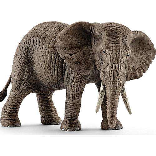 """Коллекционная фигурка Schleich """"Дикие животные"""" Африканский слон, самка от Schleich"""