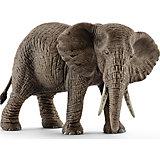 """Коллекционная фигурка Schleich """"Дикие животные"""" Африканский слон, самка"""