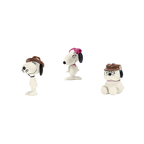 Schleich 22058 Peanuts: Scenery Pack Snoopy's Geschwister