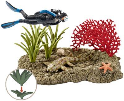 Schleich Wild Life: 42328 Taucher im Korallenriff