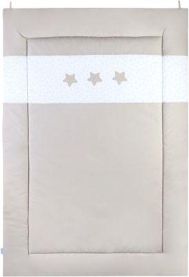 Krabbeldecke Sternstunde, taupe, 75 x 100 cm