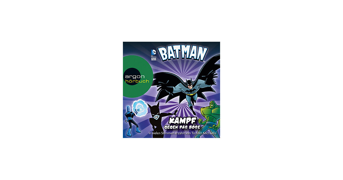 Batman, Audio-CD