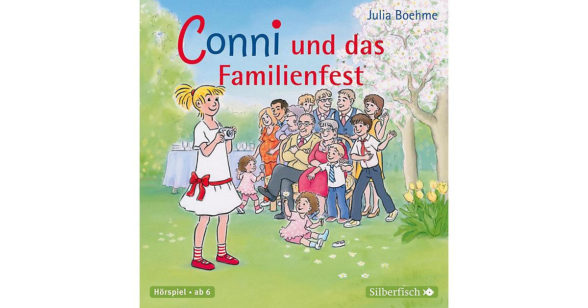 Conni und das Familienfest, 1 Audio-CD Hörbuch