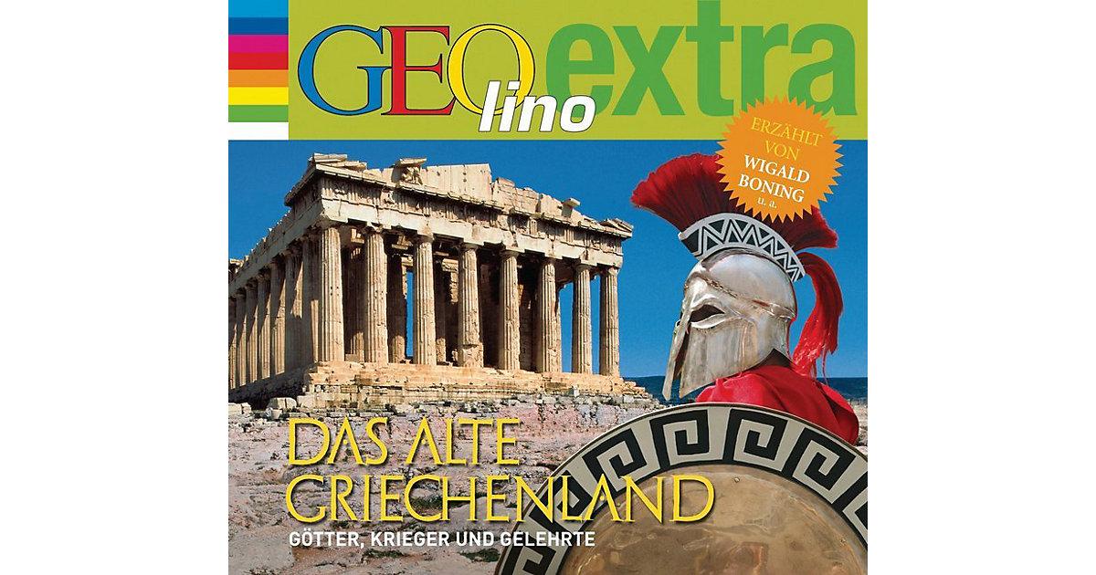 Das alte Griechenland - Götter, Kreiger und Gelehrte, 1 Audio-CD Hörbuch