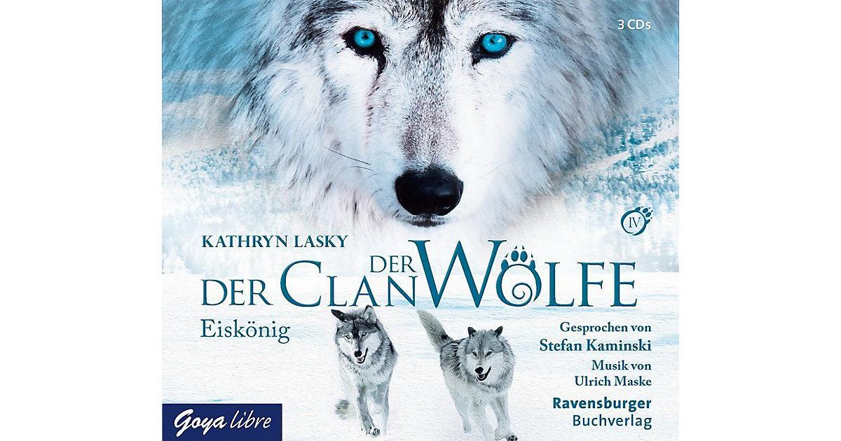 Der Clan der Wölfe: Eiskönig, 3 Audio-CDs Hörbuch
