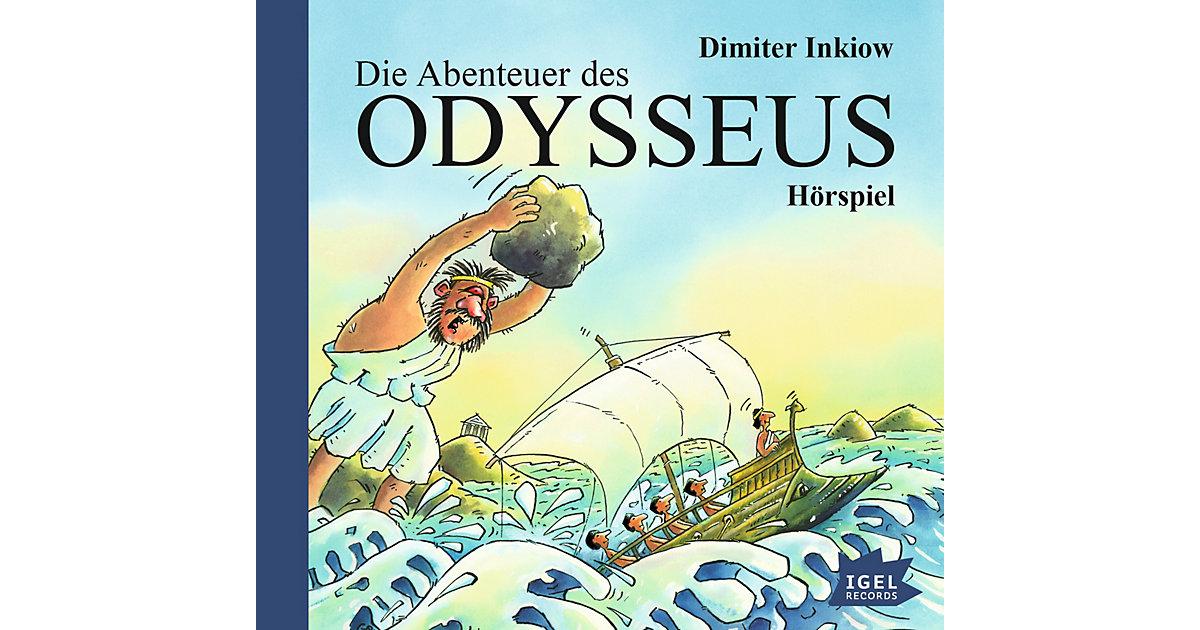 Die Abenteuer des Odysseus, Audio-CD