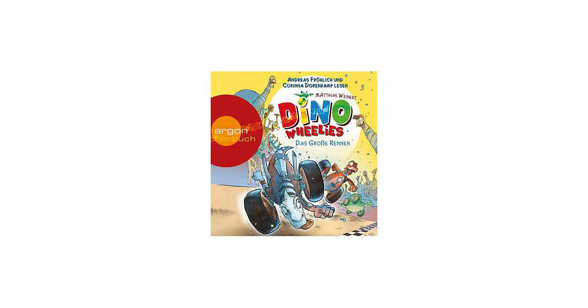 Dino Wheelies - Das große Rennen, Audio-CD Hörbuch