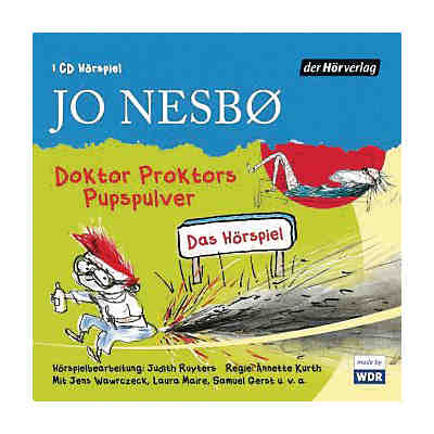 Doktor Proktors Pupspulver, 1 Audio-CD