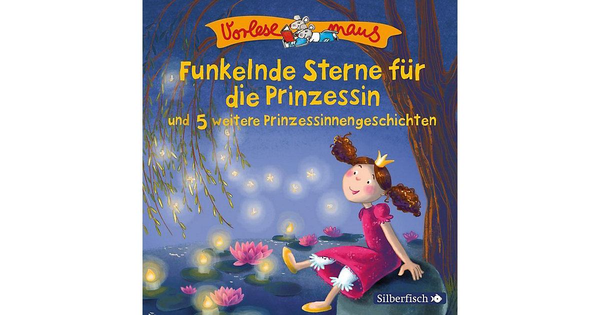 Funkelnde Sterne die Prinzessin und 5 weitere Prinzessinnengeschichten, 1 Audio-CD Kinder