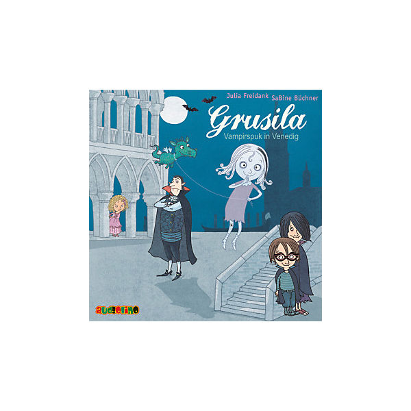 Grusila - Vampirspuk in Venedig, 1 Audio-CD