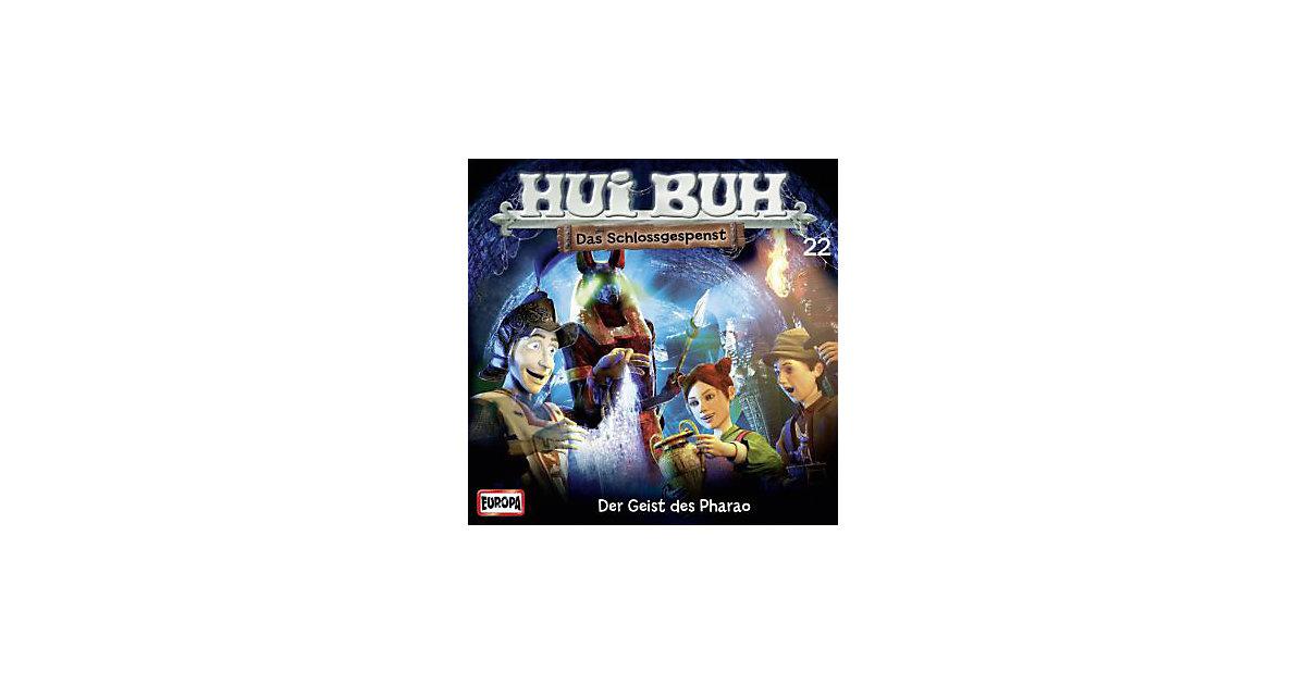 Hui Buh, Das Schlossgespenst, neue Welt, Audio-CDs: Der Geist des Pharao, Audio-CD