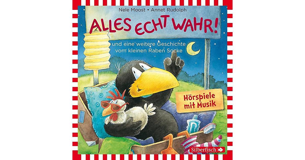 Kleiner Rabe Socke: Alles echt wahr!, 1 Audio-CD Hörbuch