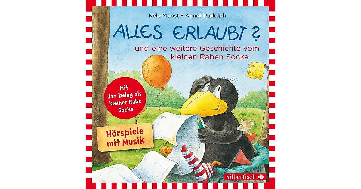 Kleiner Rabe Socke: Alles erlaubt?, 1 Audio-CD