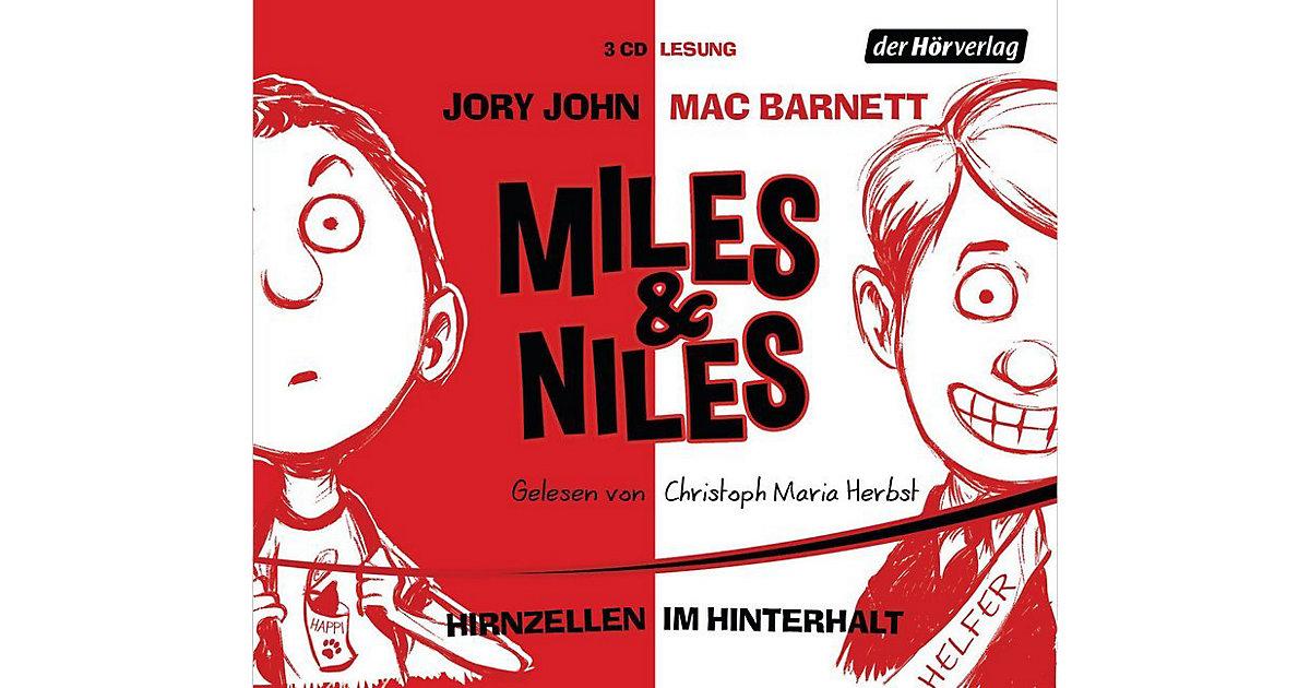 Miles & Niles - Hirnzellen im Hinterhalt, 3 Aud...