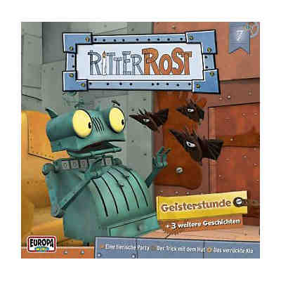 Ritter Rost - Geisterstunde, 1 Audio-CD